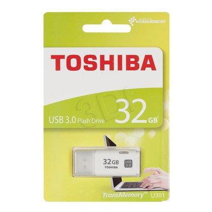 TOSHIBA Flashdrive TransMemory 32GB USB 3.0 HAYABUSA Biały