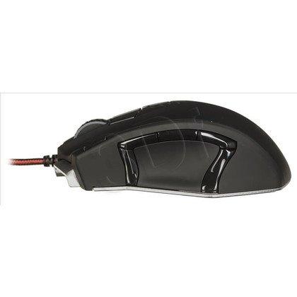 Tacens Mysz przewodowa laserowa MM5 16400dpi czarna