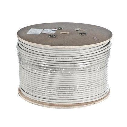 ALANTEC kabel U/FTP kat.6A LSOH KIF6ALSOH500 500m 100% MIEDŹ szary