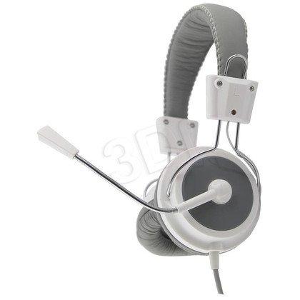 Słuchawki nauszne z mikrofonem Esperanza EAGLE (Biało-szary)