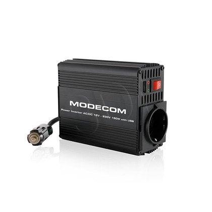 MODECOM PRZETWORNICA C015 AC/DC 24V-230V 150W USB