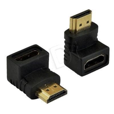 AKYGA ADAPTER KĄTOWY 90 ST. HDMI M / HDMI F AK-AD-01