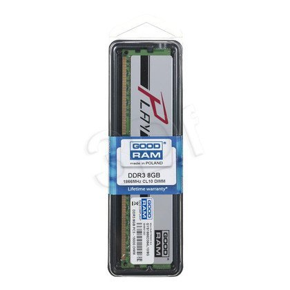 GOODRAM DDR3 PLAY 8192MB PC1866 SILVER CL10