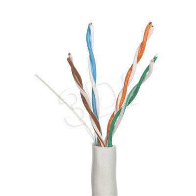 ALANTEC kabel UTP kat.5e PVC KIU5STR305 305m STRONG - WZMOCNIONA POWŁOKA szary