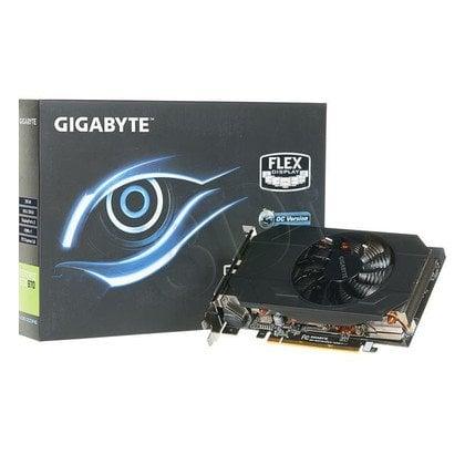 GIGABYTE GeForce GTX 970 4096MB DDR5/256bit DVI/HDMI/DP PCI-E (1216/7000) (wer. OC) (IX - krótka)