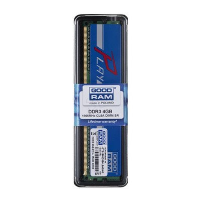 Goodram PLAY DDR3 DIMM 4GB 1866MT/s (1x4GB) Niebieski