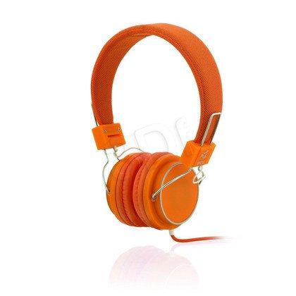Słuchawki nauszne Ibox D12 (Pomarańczowy)