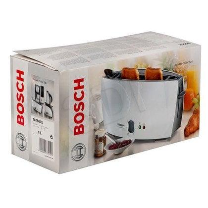 Toster BOSCH TAT 6001 (900 W/ jasno szary)