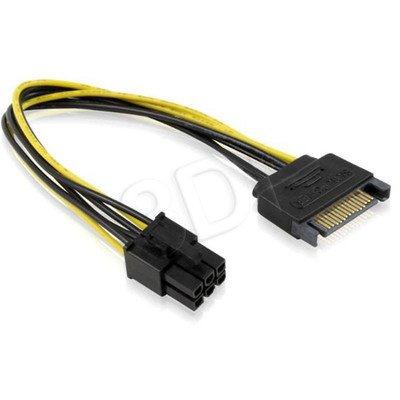 AKYGA ADAPTER SATA M / PCI-EXPRESS 6-PIN F AK-CA-30