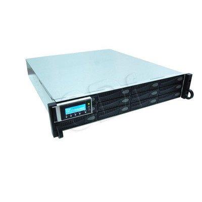 QSAN J300Q-D212 - półka dyskowa JBOD, 24TB (12 x 2TB SAS 7k2rpm), 2U, podwójny kontroler
