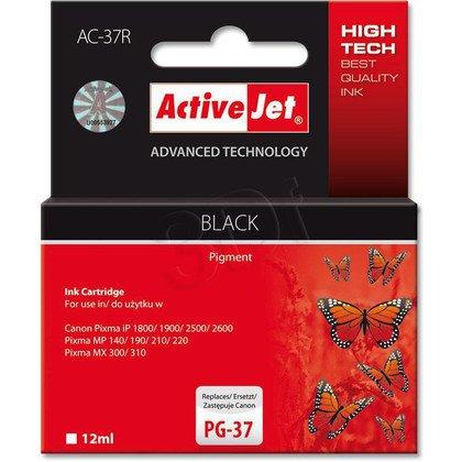 ActiveJet AC-37R tusz czarny do drukarki Canon (zamiennik Canon PG-37)