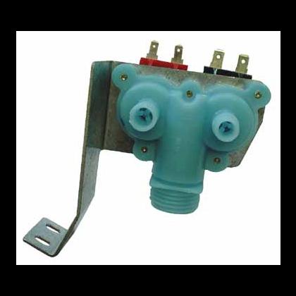 Elektrozawór wody 2-drożny 180st. ze wspornikiem