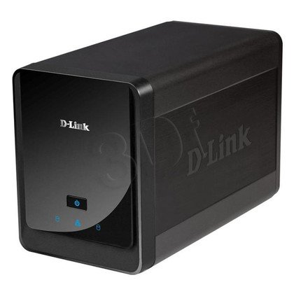 """D-LINK DNR-326 rejestrator 2x3,5"""" SATA/mydlink"""