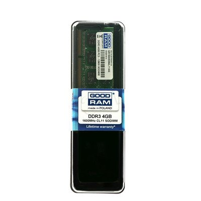 GOODRAM SO-DIMM DDR3 4096MB PC1600 CL11