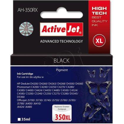 ActiveJet AH-350RX (AH-E36) tusz czarny do drukarki HP (zamiennik HP 350XL CB336EE)
