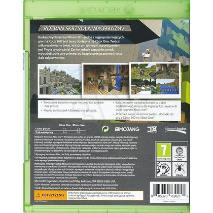 Gra Xbox ONE Minecraft