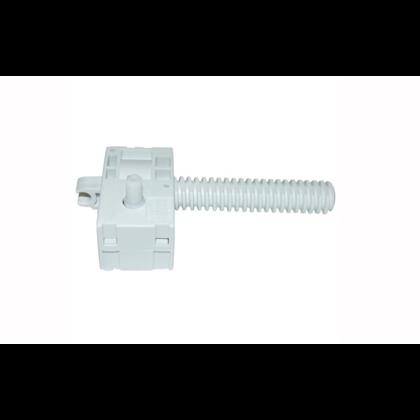 Sworzeń regulacyjny kółka przedniego zmywarki Whirlpool (481253598054)