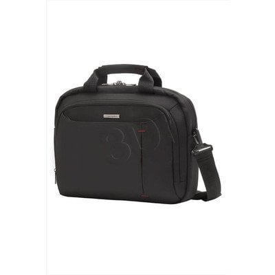 "SAMSONITE TORBA DO NOTEBOOKA 88U09001 GUARDIT 13.3"" JEDNOKOMOROWA KIESZEŃ FRONT. CZARNA"