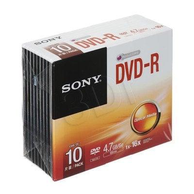 DVD-R Sony 10DMR47SS 4,7GB 16x