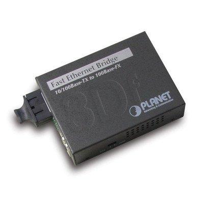 PLANET ( FT-802S15 ) Konwerter 10/100BaseT <=> 100BaseFX / SC / Single-Mode / Max. 15km /