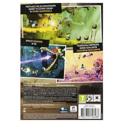 Gra PC Rayman Legends