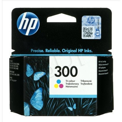 HP Tusz Kolor HP300=CC643EE, 160 str., 4 ml