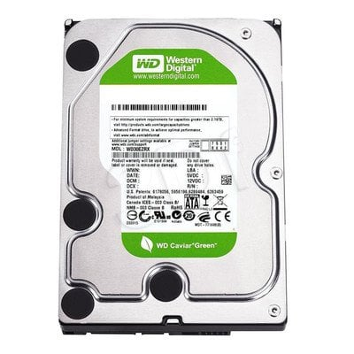 """Dysk HDD Western Digital WD AV-GP 3,5"""" 3000GB SATA III 64MB WD30EURX"""