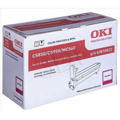OKI Bęben Czerwony C5850/5950=43870022=C5850, C5950, MC560, 20000 str.