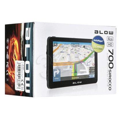 NAWIGACJA BLOW SIROCCO GPS700 + AUTOMAPA EU 1 ROK