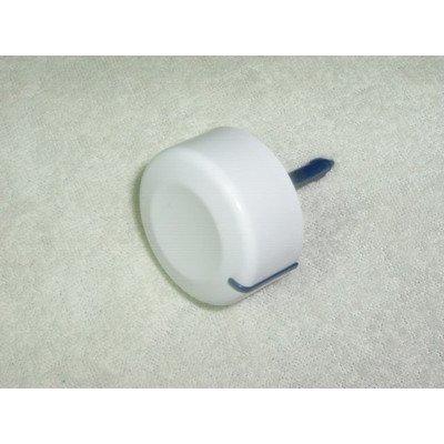 Pokrętło programatora pralki białe z ośką (481241458306)