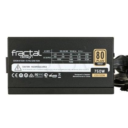 FRACTAL DESIGN EDISON M 750W MODULARNY 80+ GOLD