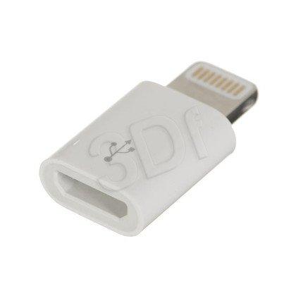 Przejściówka Lightning na Micro USB BULK