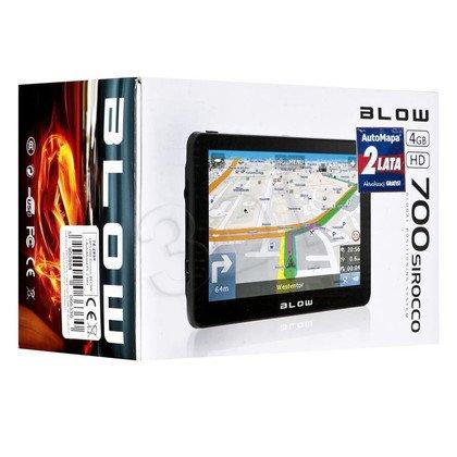 NAWIGACJA BLOW SIROCCO GPS700 + AUTOMAPA PL 2 LATA