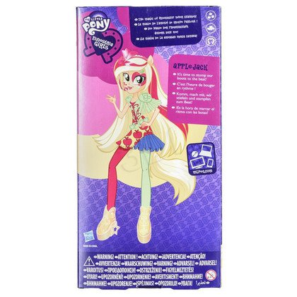 MLP MY LITTLE PONY EQUESTRIA GIRLS LALKA ROCK HASBRO A9884 APPLEJACK