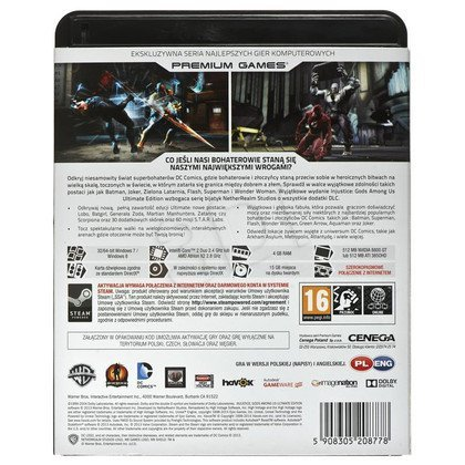 Gra PC NPG Injustice Gods Among Us Ultimate Edition