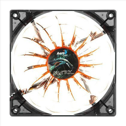 AEROCOOL SHARK FAN EVIL BLACK LED - 140x140x25mm