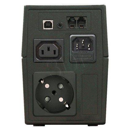 LESTAR UPS MC-855SU AVR 1XSCH + 1XIEC USB