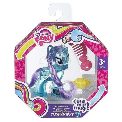 MLP MY LITTLE PONY BROKATOWE KUCYKI HASBRO DIAMOND MINT