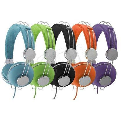 Słuchawki nauszne Esperanza MACAU (Fioletowo-srebrny)