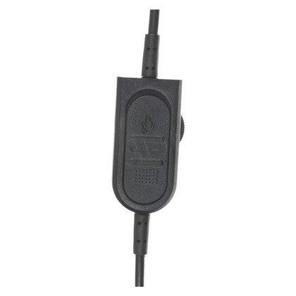 Słuchawki nauszne z mikrofonem Natec GENESIS H59 (Czarno-czerwony)