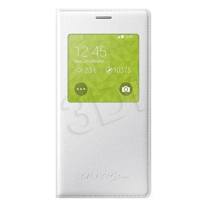 """Samsung Etui do telefonu S View 4,5"""" Galaxy S5 mini białe"""
