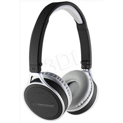 Słuchawki nauszne z mikrofonem Esperanza YOGA (Czarny Bluetooth)