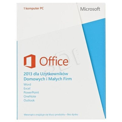 MS Office Home and Business 2013 32-bit/x64 PL MLK