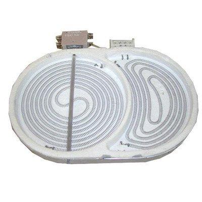 Płytka grzejna ceramiczna 170x265N 2200W 400V (8001790)