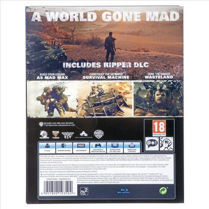 Gra PS4 ESP MAD MAX RIPPER EDITION (STEELBOOK)