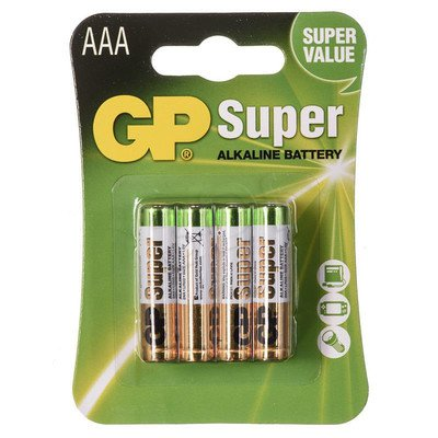 GP Bateria alkaiczna LR03 blister 8szt.