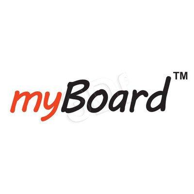 """Uniwersalna podstawa jezdna z wysięgnikiem do projektora """"SHORT THROW"""" lub """"ULTRA SHORT THROW"""" MyBoard"""
