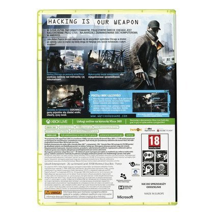 Gra Xbox 360 Watch Dogs Vigilante Edition