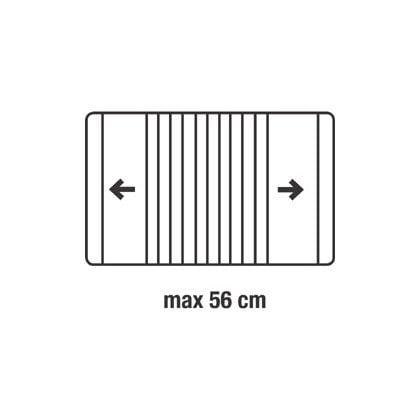 Rozsuwana półka piekarnika od 35 do 56 cm (50284160004)