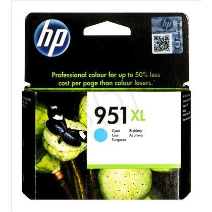 HP Tusz Niebieski HP951XL=CN046AE, 1500 str.